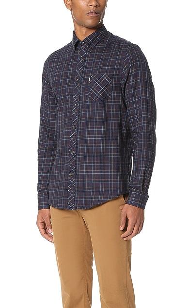 Ben Sherman Tattersall Check Shirt
