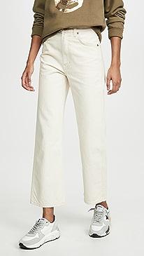 Plein High Straight Jeans