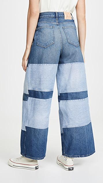 B Sides Claude High Flare Jeans