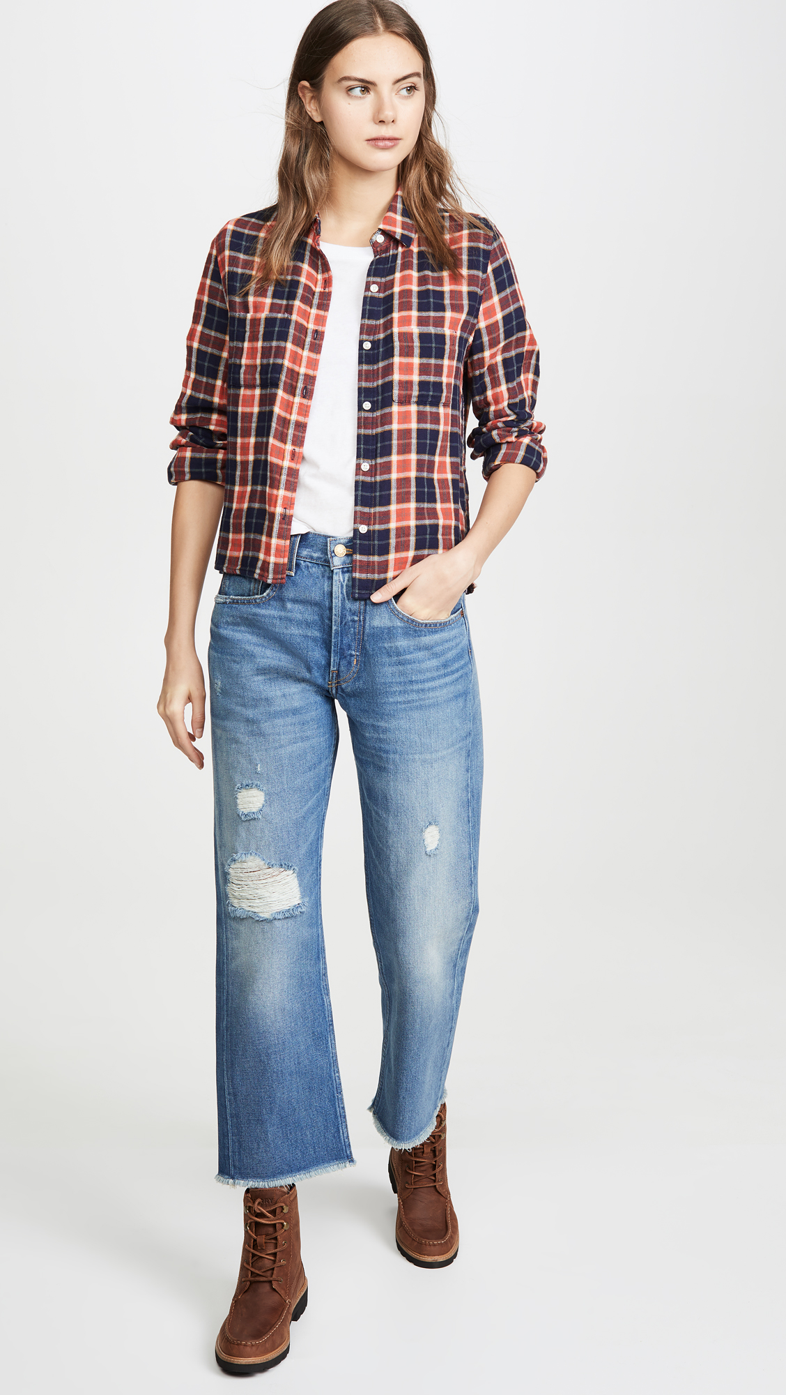 B Sides Marcel Relaxed Straight Jeans