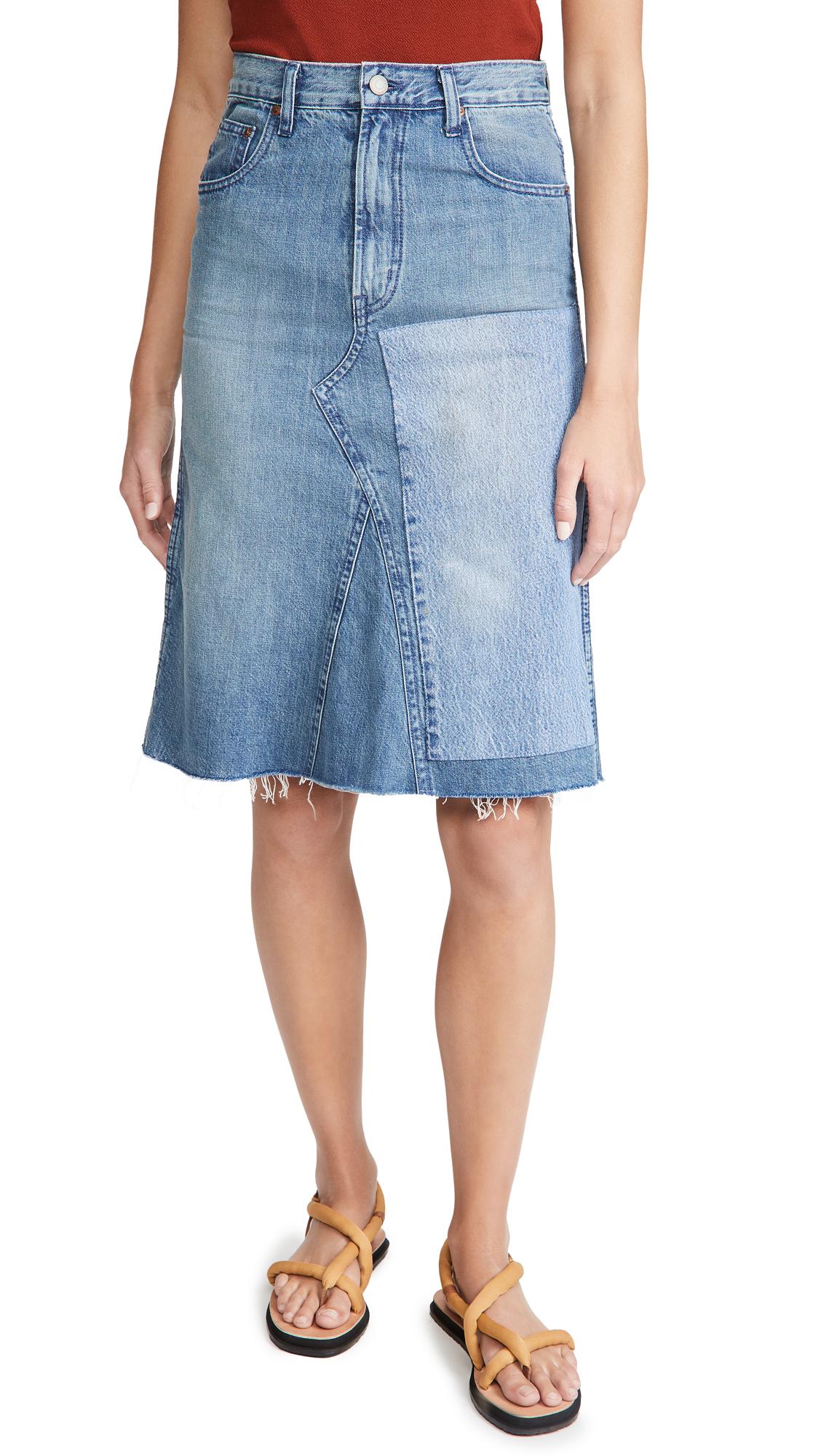 B Sides Plein Skirt
