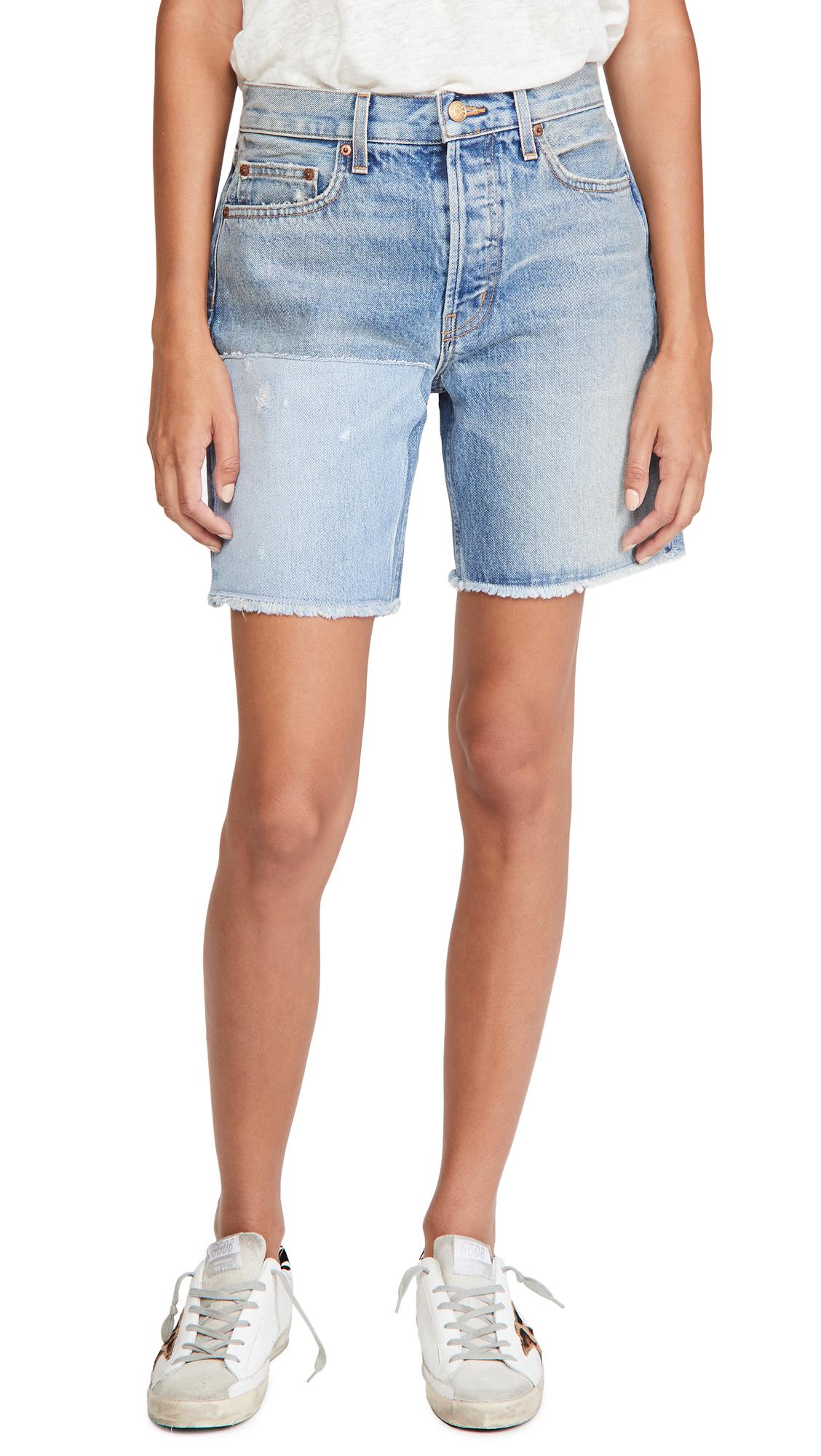 B Sides Cut Off Shorts