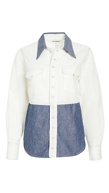 B Sides 西部风格衬衫