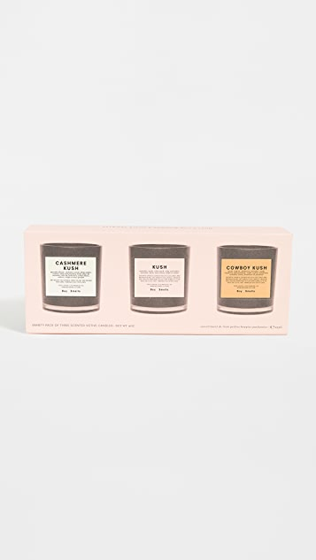 Boy Smells Kush Candle Variety Pack