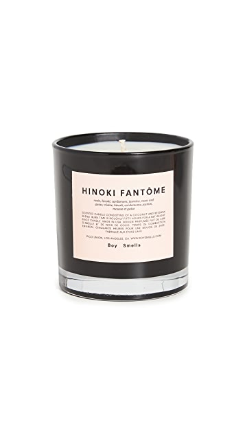 Boy Smells Hinoki Fantome Candle