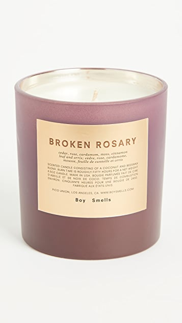 Boy Smells Broken Rosary Candle