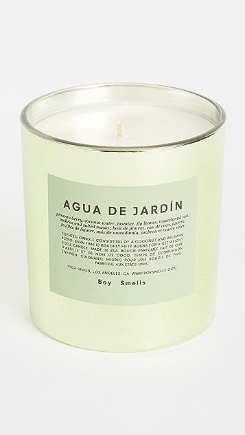 Boy Smells Agua de Jardin Candle