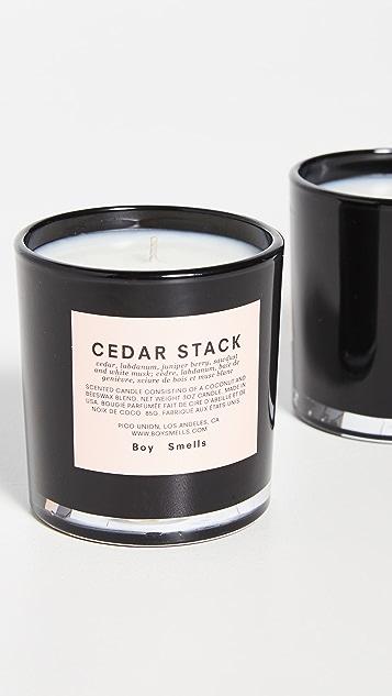 Boy Smells 库什,白蜡树,雪松蜡烛组合套装
