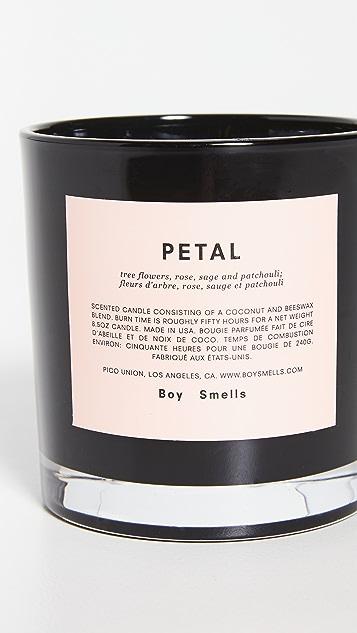 Boy Smells Petal Candle
