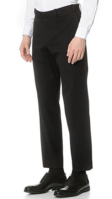Brooklyn Tailors Tonal Seersucker Trousers