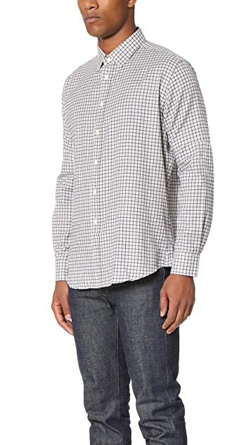 Brooklyn Tailors Soft Brushed Check Dress Shirt