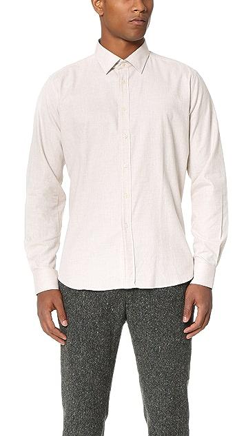 Brooklyn Tailors Lightweight Flannel Dress Shirt