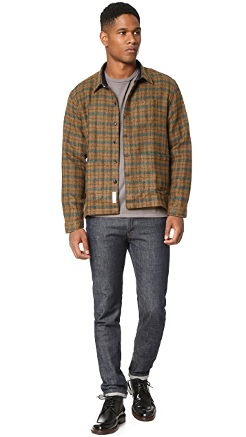 Brooklyn Tailors Plaid Shirt Jacket