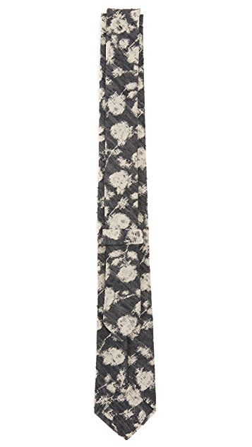 Brooklyn Tailors Silk Watercolor Jacquard Necktie