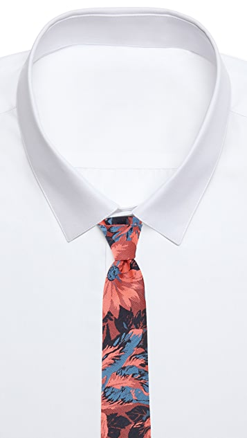 Brooklyn Tailors Floral Necktie