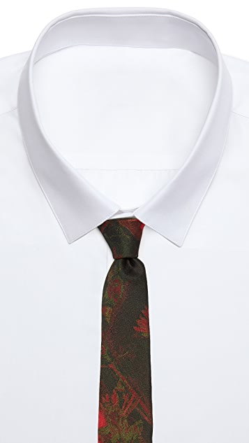 Brooklyn Tailors Deep Floral Necktie