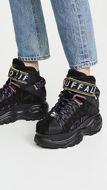 Buffalo London Classic High Top Sneakers