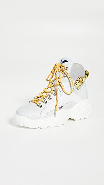 Buffalo London Gisele High Top Sneakers