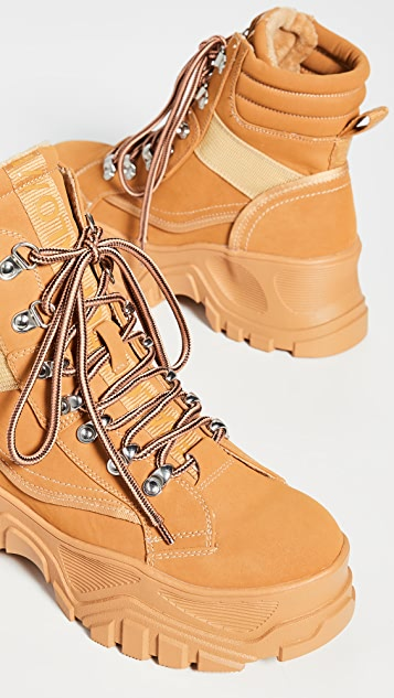 Buffalo London Fendo 系带靴