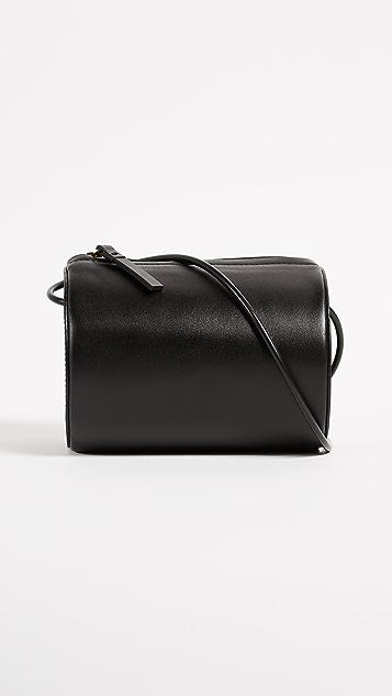 Building Block Cylinder Bag - Black