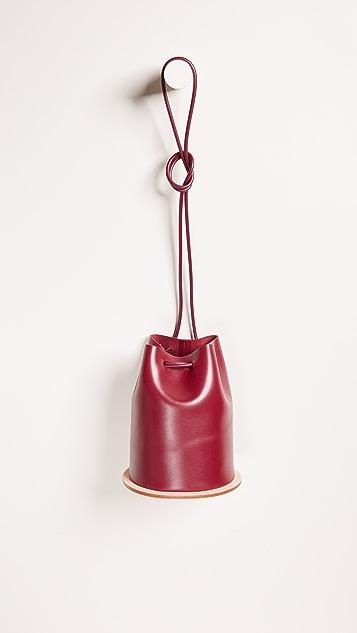 Building Block Disc Bucket Bag