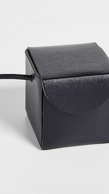 Building Block Сумка на ремне с маленькими кубическими элементами
