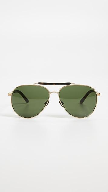 Burberry Pilot Sunglasses