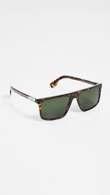 Burberry Flat Top Sunglasses