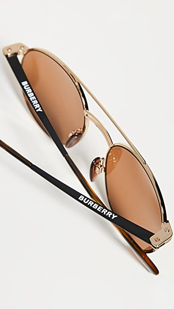 Burberry Round Sunglasses