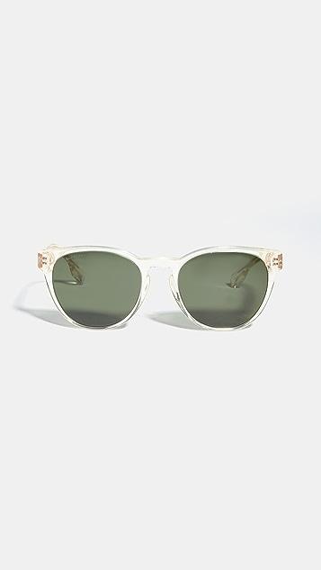 Burberry Classic Round Sunglasses