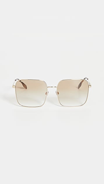 Burberry Jude B Stripe Sunglasses