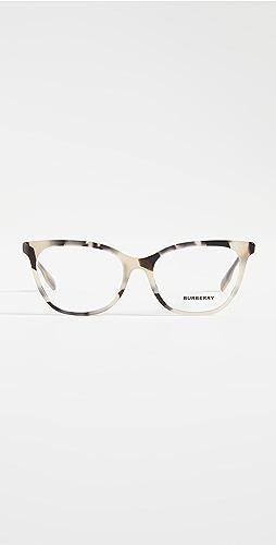 Burberry - Isabella B 条纹太阳镜