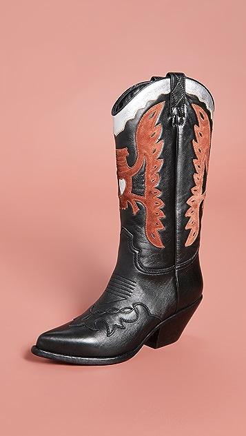Buttero Elise Western Boots