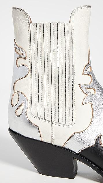 Buttero Elise 西部风格短靴