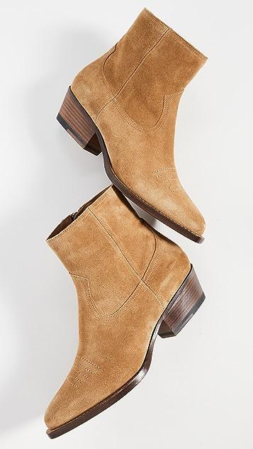 Buttero Tres 绒面革短靴
