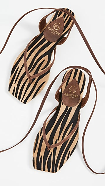 Brother Vellies Thong Sandals