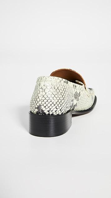 BY FAR Britney 浅口船鞋