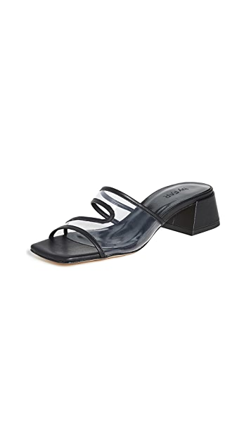 BY FAR Lola Slide Sandals