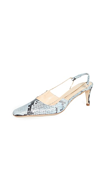 By Far Gabriella Slingback Pumps