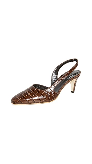 BY FAR Lauren Slingback Pumps