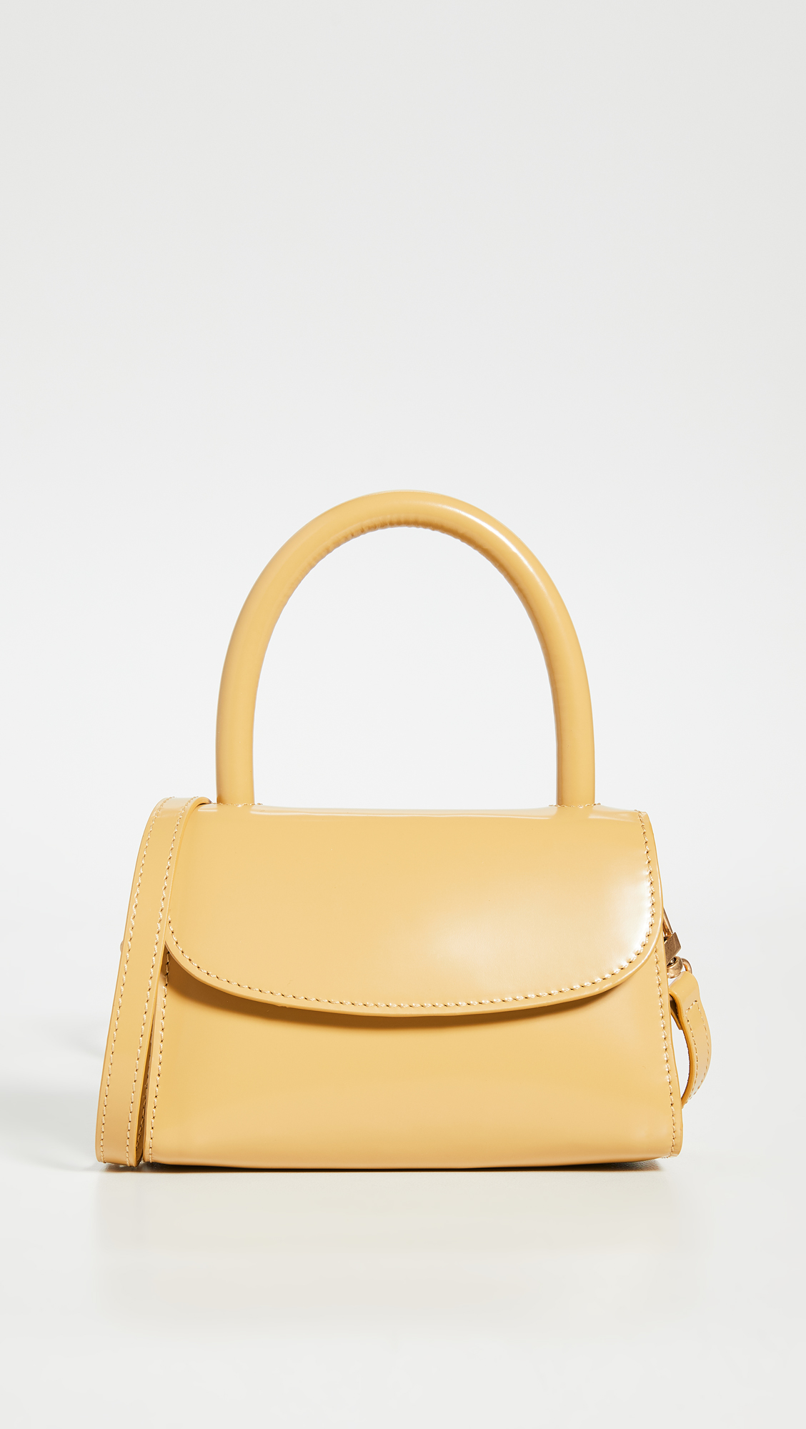 BY FAR Mini Top Handle Bag