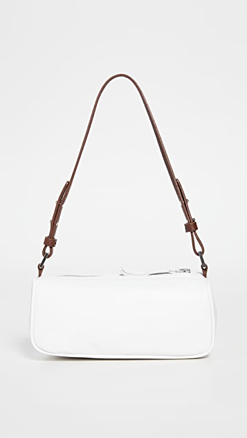 BY FAR Eve White Nappa Leather Bag