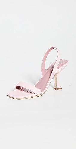 BY FAR - Lotta Peony Sandals