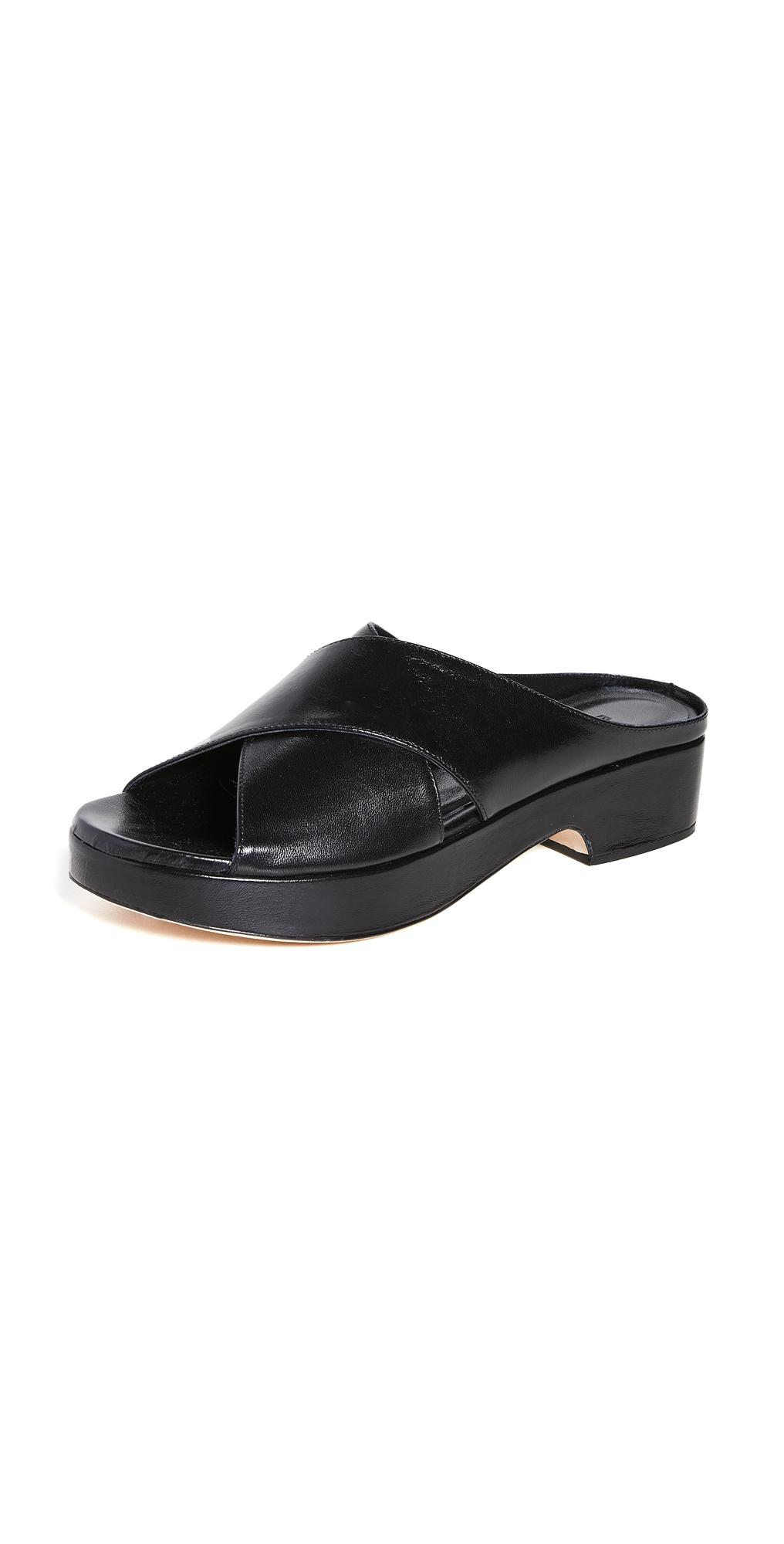 BY FAR Iggy Slide Sandals