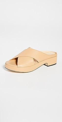 BY FAR - Iggy Nude 皮便鞋