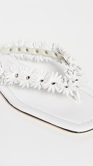 BY FAR Gita 夹趾凉鞋