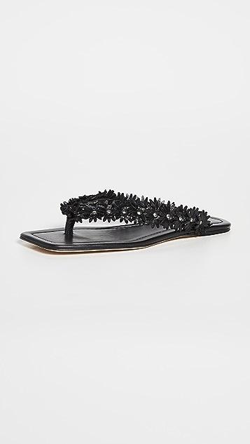 BY FAR Gita Thong Sandals