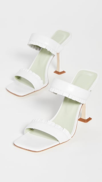 BY FAR Pina Sandals