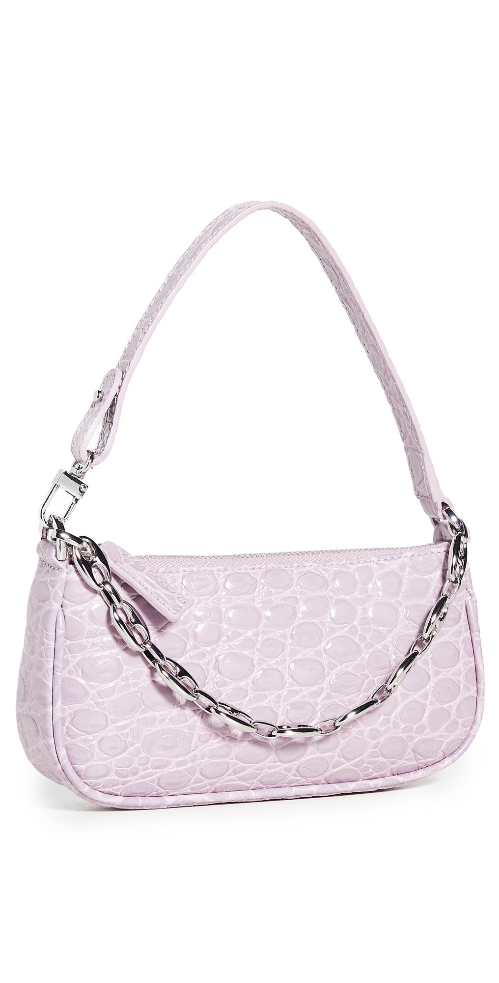 By Far Mini Rachel Bag In Lilac