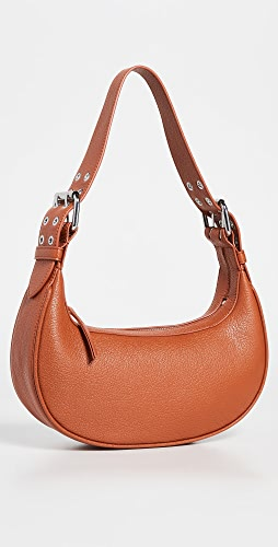 BY FAR - Soho Cognac Grained Leather